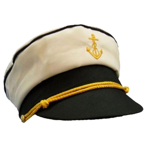Peaked Captain Hat