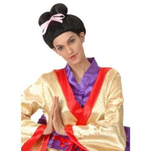 Ladies Japanese Oriental Geisha Wig