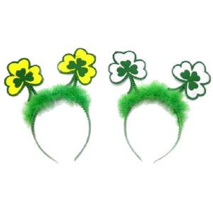 St Patrick Day Shamrock Head Boppers