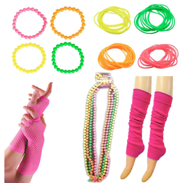 80s Fancy Dress Neon Accessory