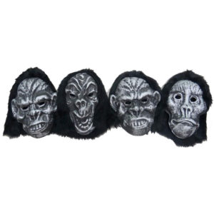 Assorted Halloween Face Mask 4 Pcs