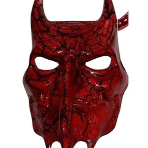 Red Devil Plastic Mask