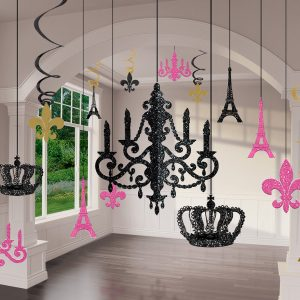 A Day In Paris Glitter Chandelier Kit