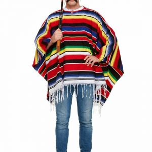 Adult Deluxe Mexican Poncho Top