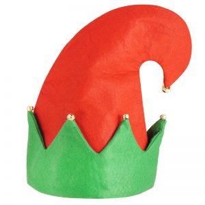 Adult Elf Hat With Bells