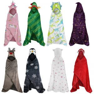 Kids Hooded Throw