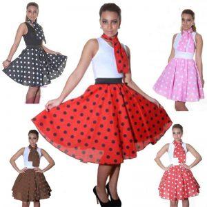 Polka Dot Skirt 22 Inches