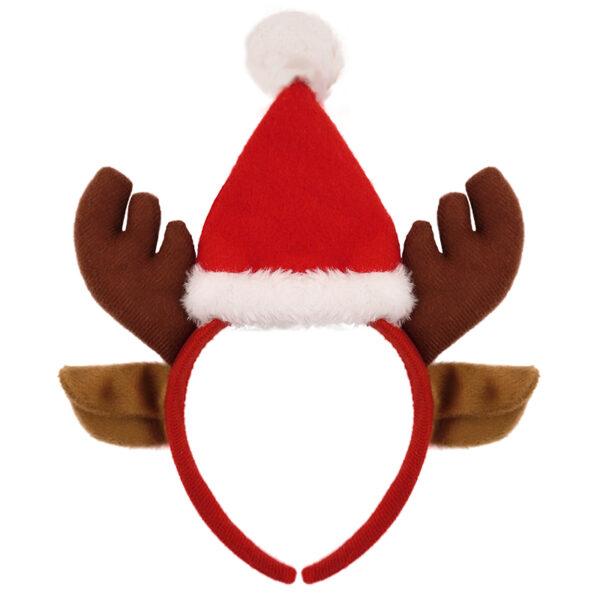 reindeer hat headband