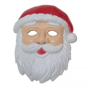 Santa Plastic Mask
