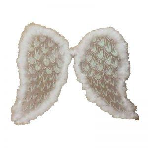 Adult White Angel Xmas Wings