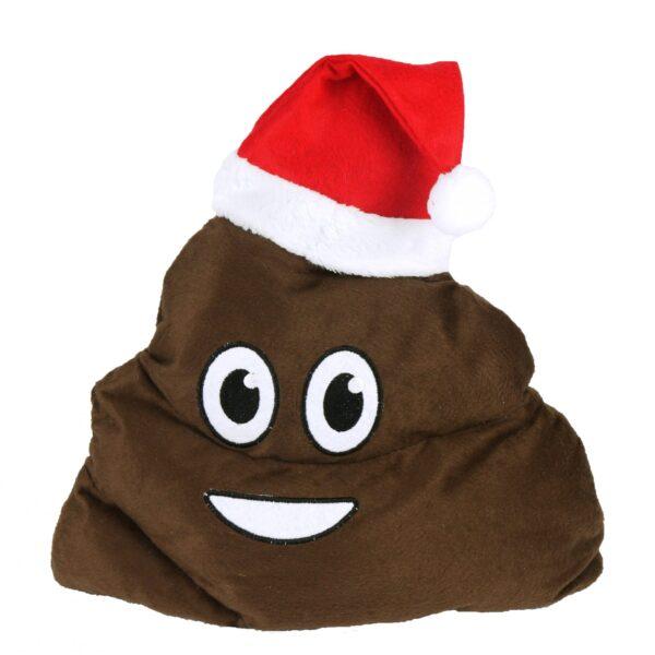xmas fake poop hat