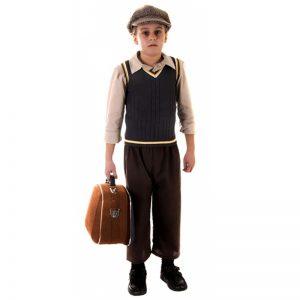 Children Evacuee Boy Costume