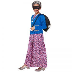 Children Naughty Grandma Costume