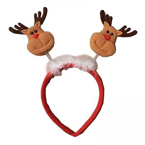Christmas Reindeer Deely Bobber Headband