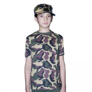 Children Camouflage Army T-Shirt