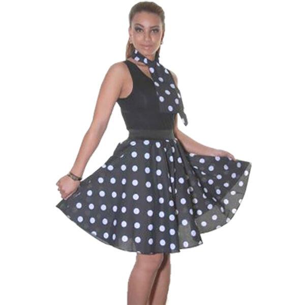 black white skirt 18in