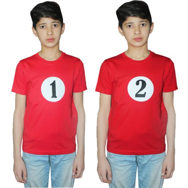 1 And 2 Printed T Shirt