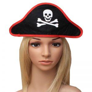 Black Pirate Hat On A Headband