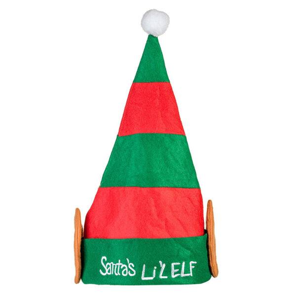 santa lil elf hat