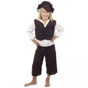 Child Victorian Boy Costume