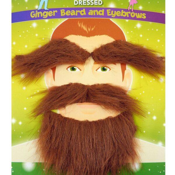 Ginger Beard Set
