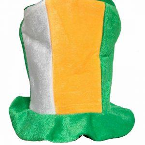 Tricolor Irish Top Hat
