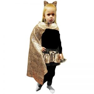 Children Leopard Print Cape