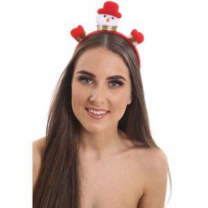 Christmas Snowman Aliceband
