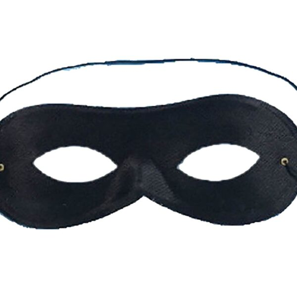 Black Domino Eye Mask
