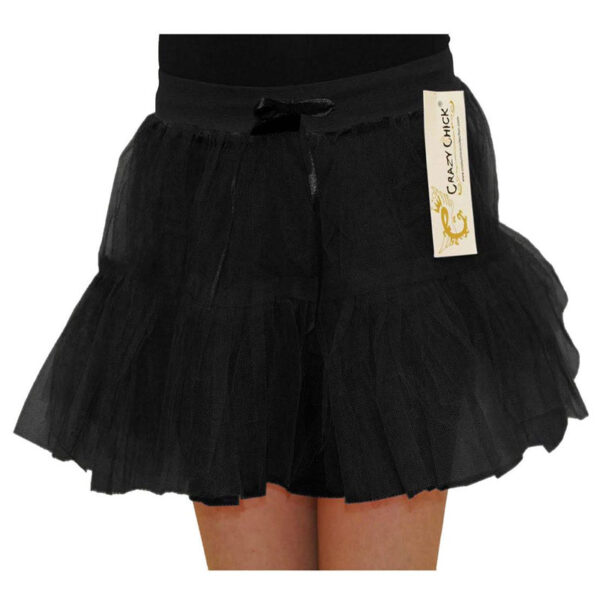 Black 2 Layer TUTU Skirt