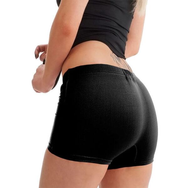 Black Womens Hot Pants