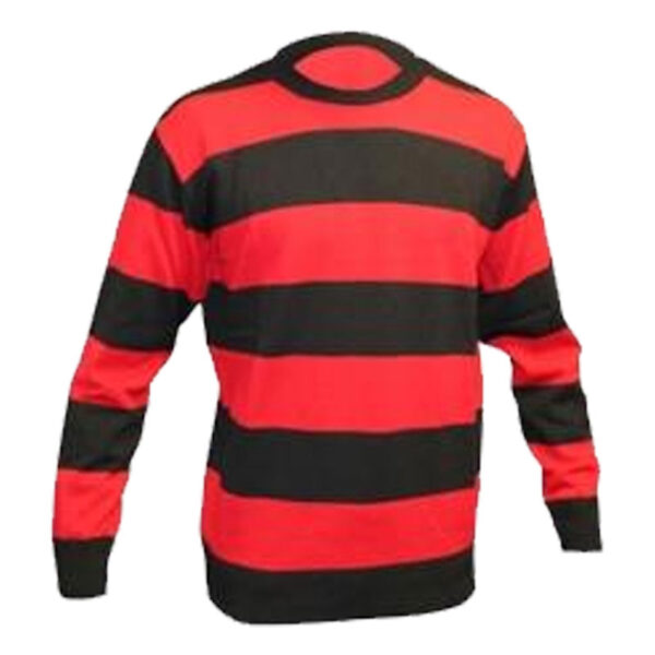 Black Red Jumper