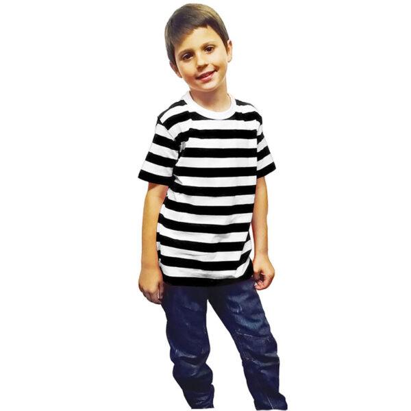 Child Black White TShirt