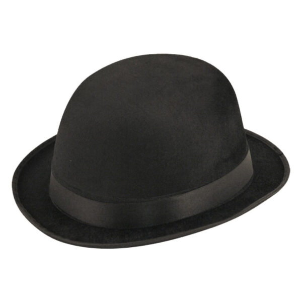Velour Bowler Hat