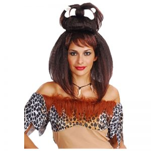 Stone Age Cave Women And Men Wig