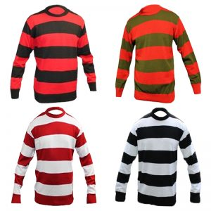 Children Knitted Stripes Jumper