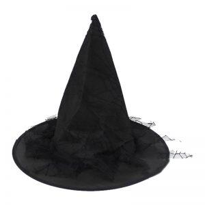 Kids Black Witch Hat