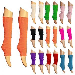 Womens Plain Leg Warmer