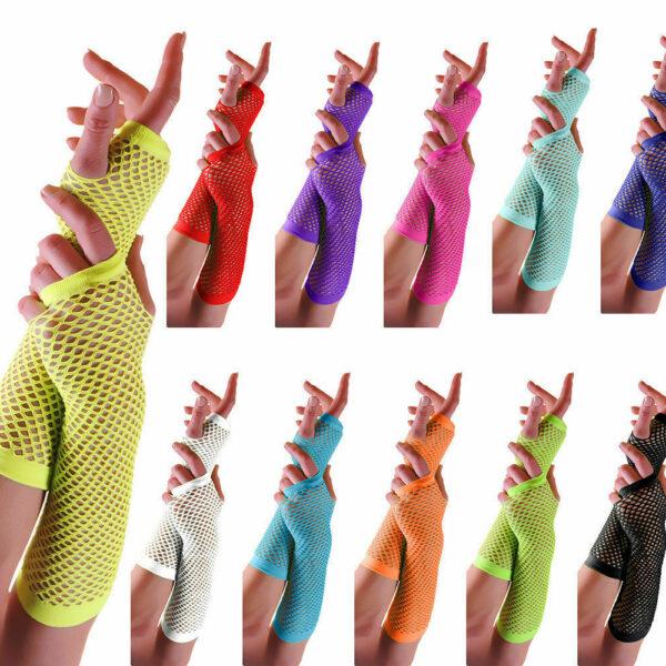 Main Long Fish Net Gloves