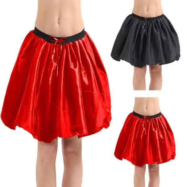Main 3 Layer Satin Skirt