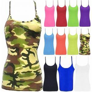 Girls Microfiber Lycra Vest Top