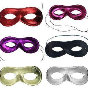 Metallic Domino Shape Eye Mask