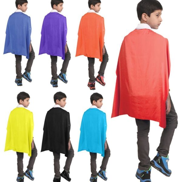 Main Child Satin Cape