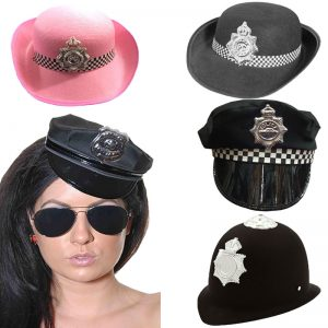 Unisex Police Hat