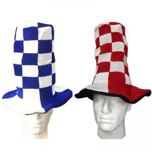 Wacky Tall Checkered Hat