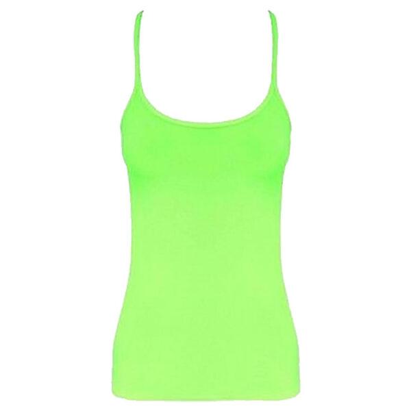 Neon Green Girls Vest