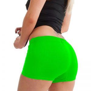St. Patricks Neon Green Hot Pants