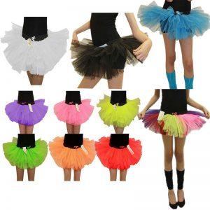Girls 3 Layers TuTu Skirt
