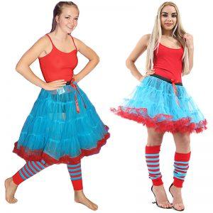 2 Layer Ruffle Edged TuTu Skirt