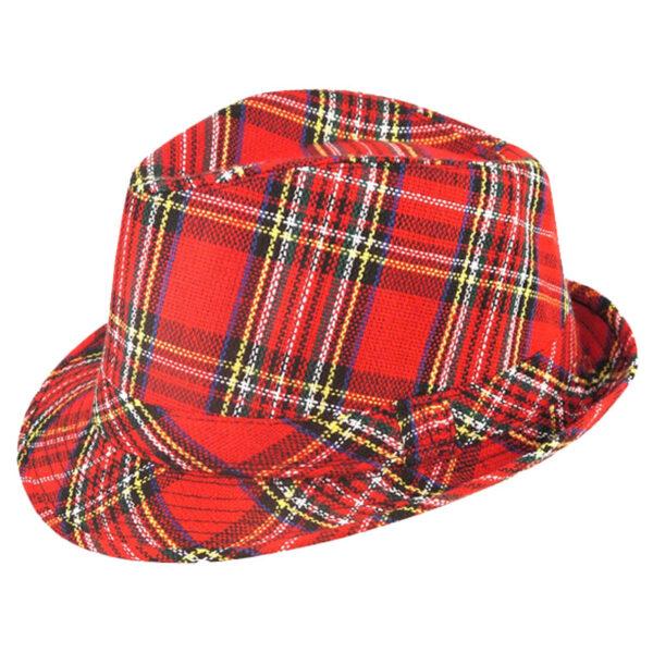 Tartan Trilby Hat